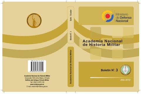 Boletín 3 de la Academia Nacional de Historia Militar by Academia ... de592d88f8d