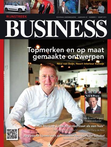 Rijnstreek Business, nummer 2 - maart 2013 by Rijnstreek Business ...