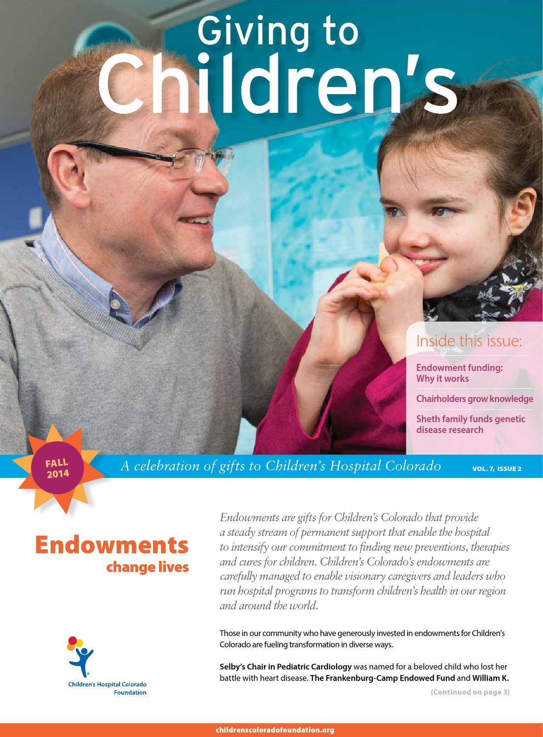 support children's colorado foundation - HD1103×1496