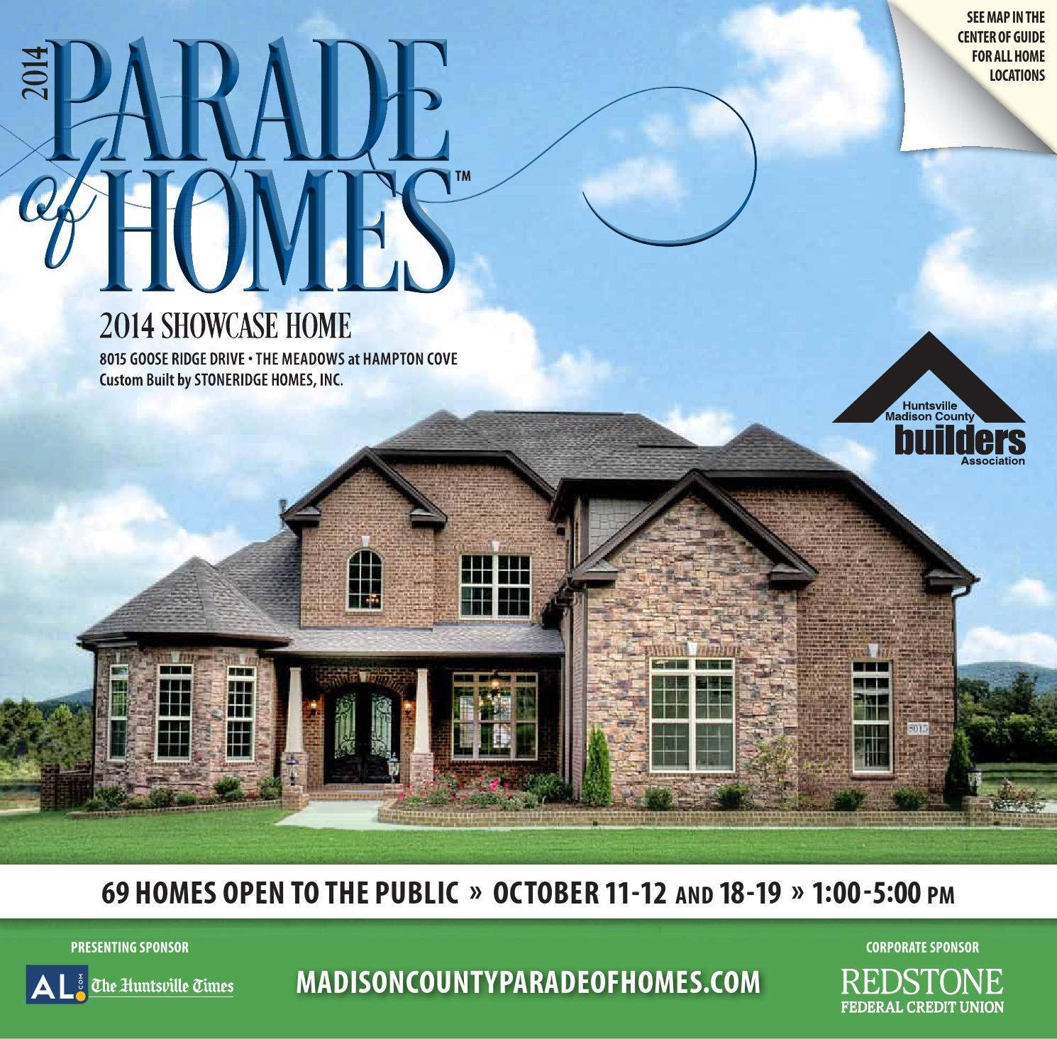 2017 Parade Of Homes Guidebook By Huntsville Madison County Builders Ociation Issuu