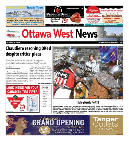 17a89851e289 Ottawawest100914 by Metroland East - Ottawa West News - issuu
