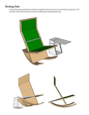 Surprising Rocking Chair By Rachel Lehr Issuu Short Links Chair Design For Home Short Linksinfo