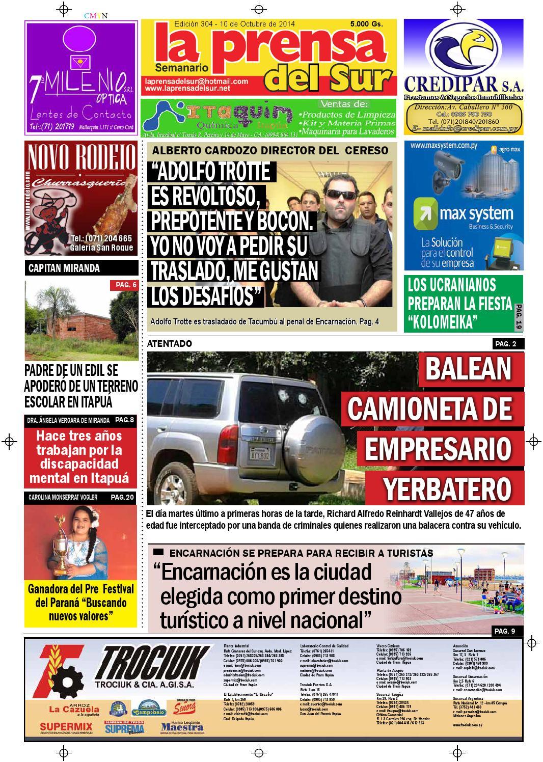 La Prensa del Sur by Roque Zynke - issuu