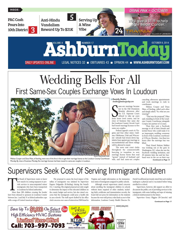 Ashburn Today, October 9, 2014 by InsideNoVa - issuu