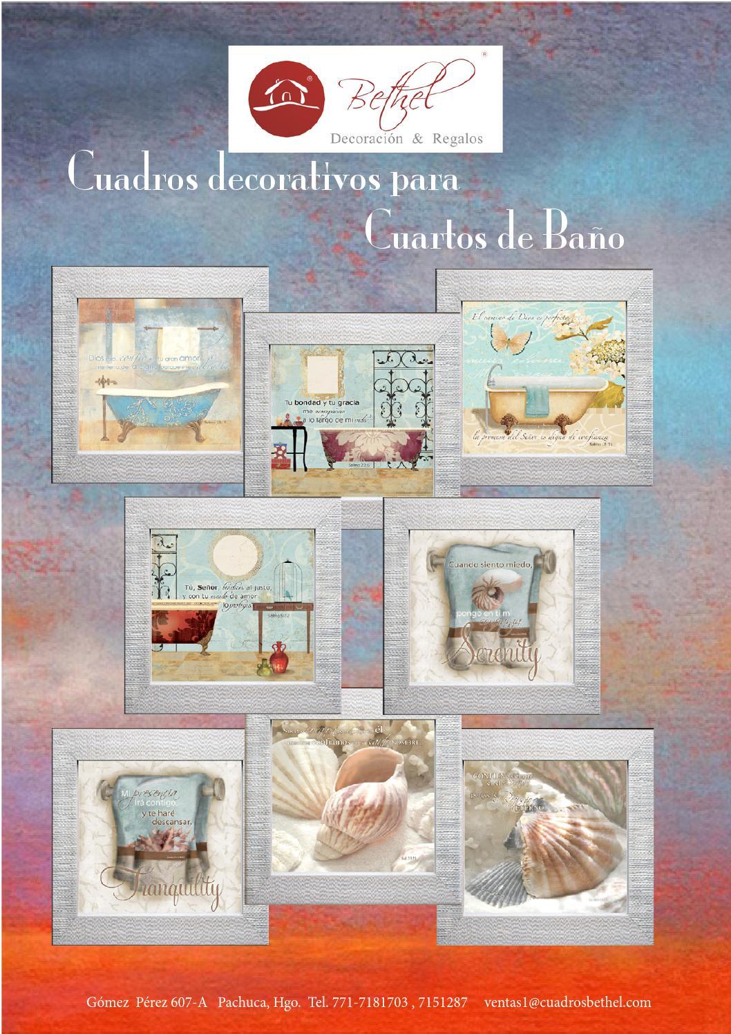 Cuadros para cuartos de baño by Bethel Cuadros - issuu