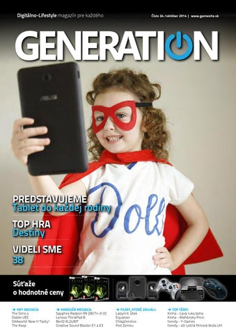 Generation magazín  037 by Generation magazine - issuu 60a949a9f0
