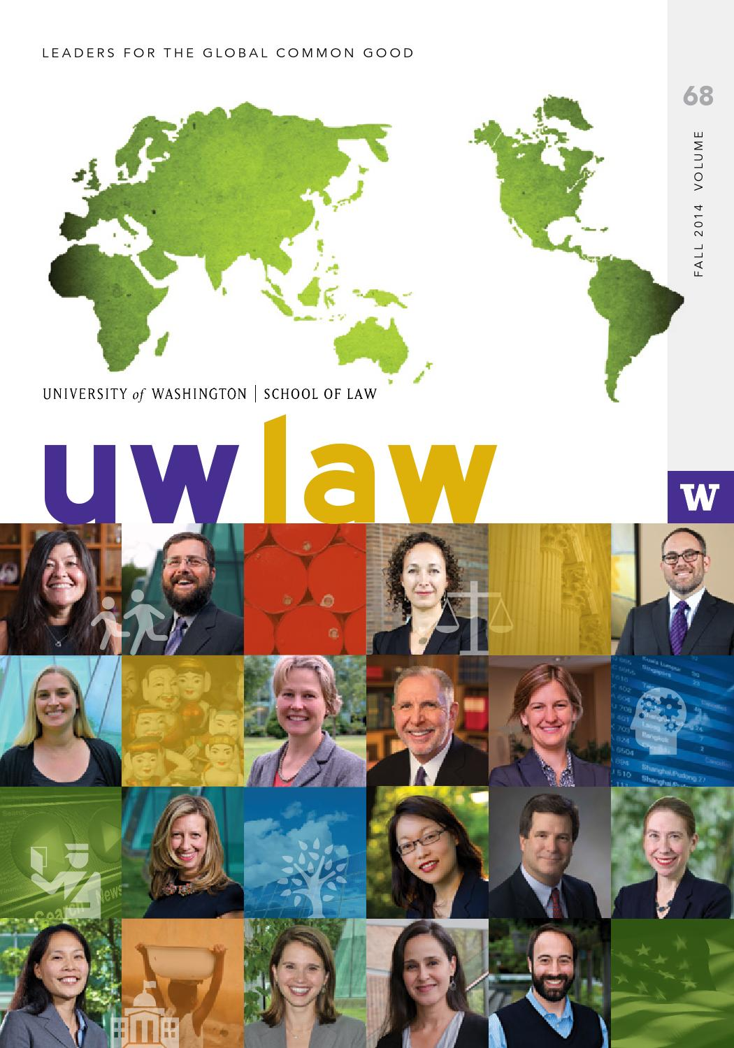 1739b3d3a61 UW Law Fall 2014 by UW School of Law - issuu