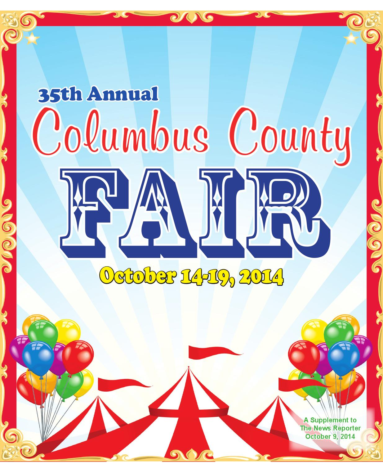 Columbus County Fair 2014 by The News Reporter - issuu