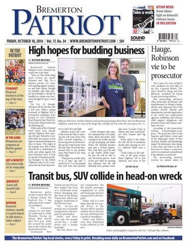Bremerton Patriot, October 10, 2014 by Sound Publishing - issuu