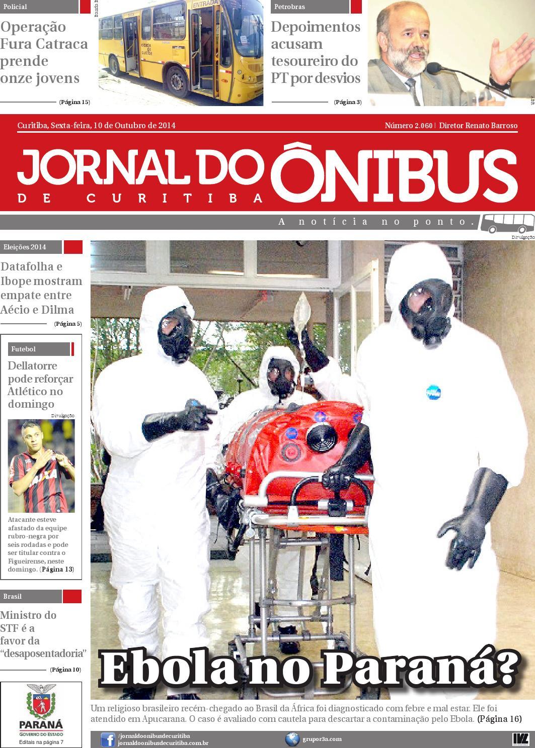 Jornal do Ônibus de Curitiba - Edição 10 10 2014 by Editora Correio  Paranaense - issuu 8014e03096c3b