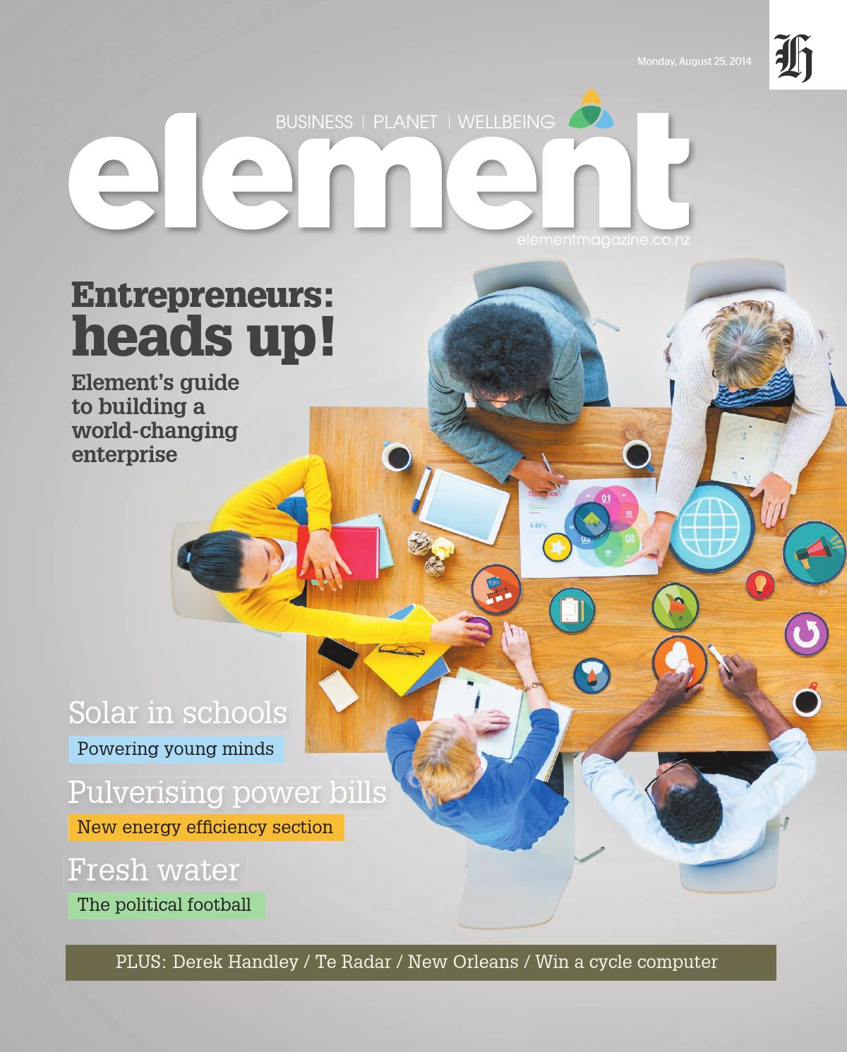 Element August 2014 By Nzme Issuu Millet Flagship Intelligent Household Water Purifiers