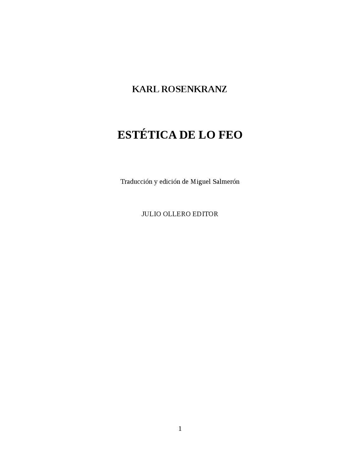 Estética de lo feo by Frank David Aquino Ordinola - issuu