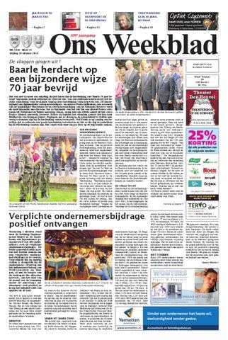 Ons Weekblad 10 10 2014 By Uitgeverij Em De Jong Issuu