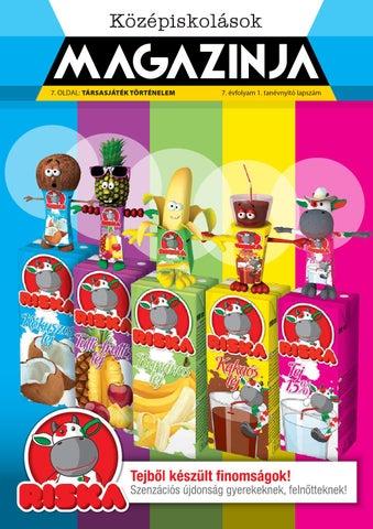 """Cover of """"2014 09 középiskolások magazinja szekesfehervar"""""""