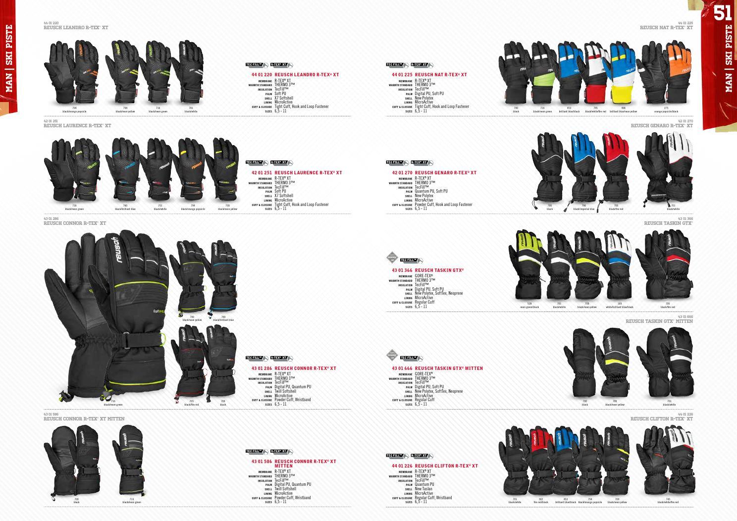 8eeed4355 Reusch Winter Catalogue 2014.15 by MountainBlogIT - issuu