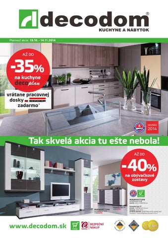 621e37a10933 Akcia decodom október 2014 by Decodom - Slovenský výrobca nábytku ...