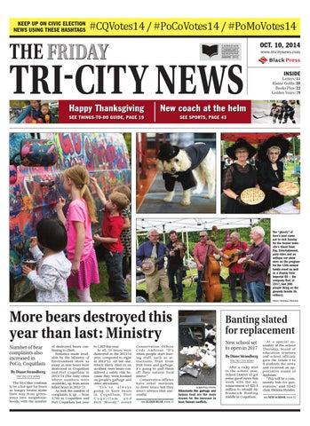 The Tri City News October 10 2014 By Black Press