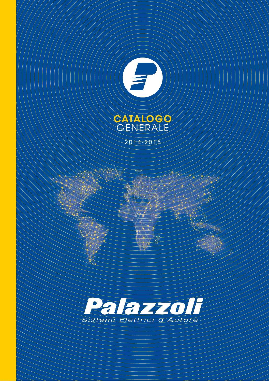 PALAZZOLI CASSETTA TAIS TERMOINDURENTE 62X80X38 2 INGRESSI IP65 101021