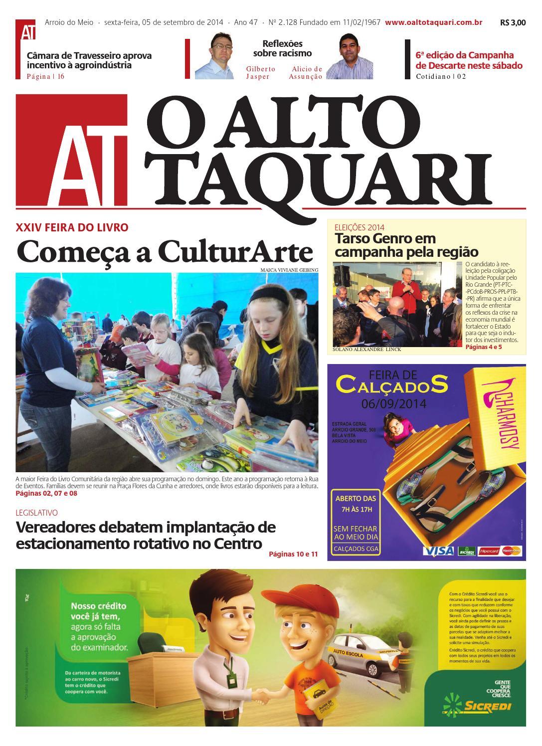 cf5b2201f7 Jornal O Alto Taquari - 05 de setembro de 2014 by Jornal O Alto Taquari -  issuu