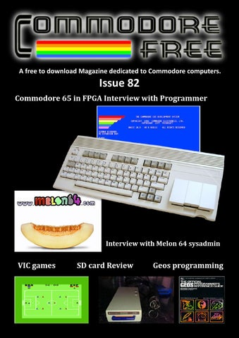 Commodore free issue 82 by commodore free magazine issuu a free to download magazine dedicated to commodore computers fandeluxe Gallery