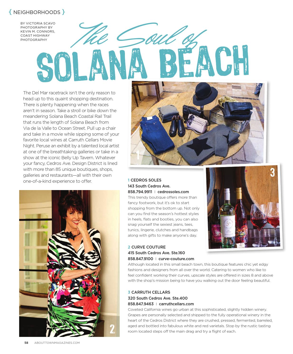 Elliptical Bike Solana Beach: About Town Magazine Fall 2014 V01 By ABOUT TOWN Magazine