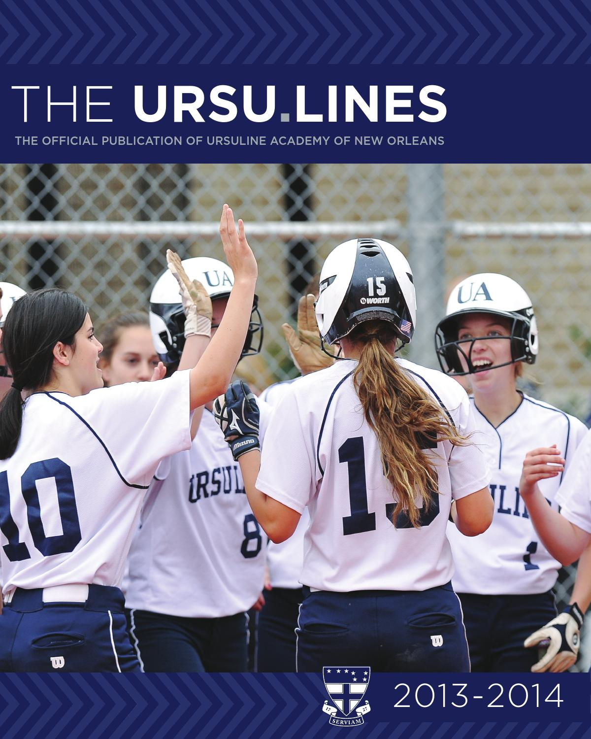 Ursu.lines 2013-2014 by Ursuline Academy - issuu 4952db7595f