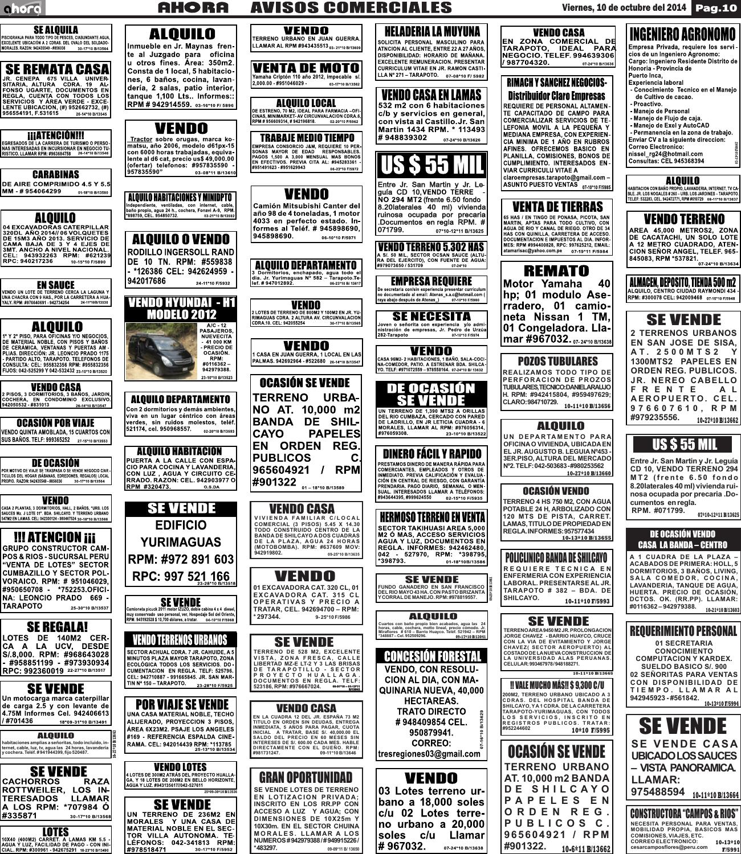 10 10 14 avisos comerciales by jonatan arias issuu