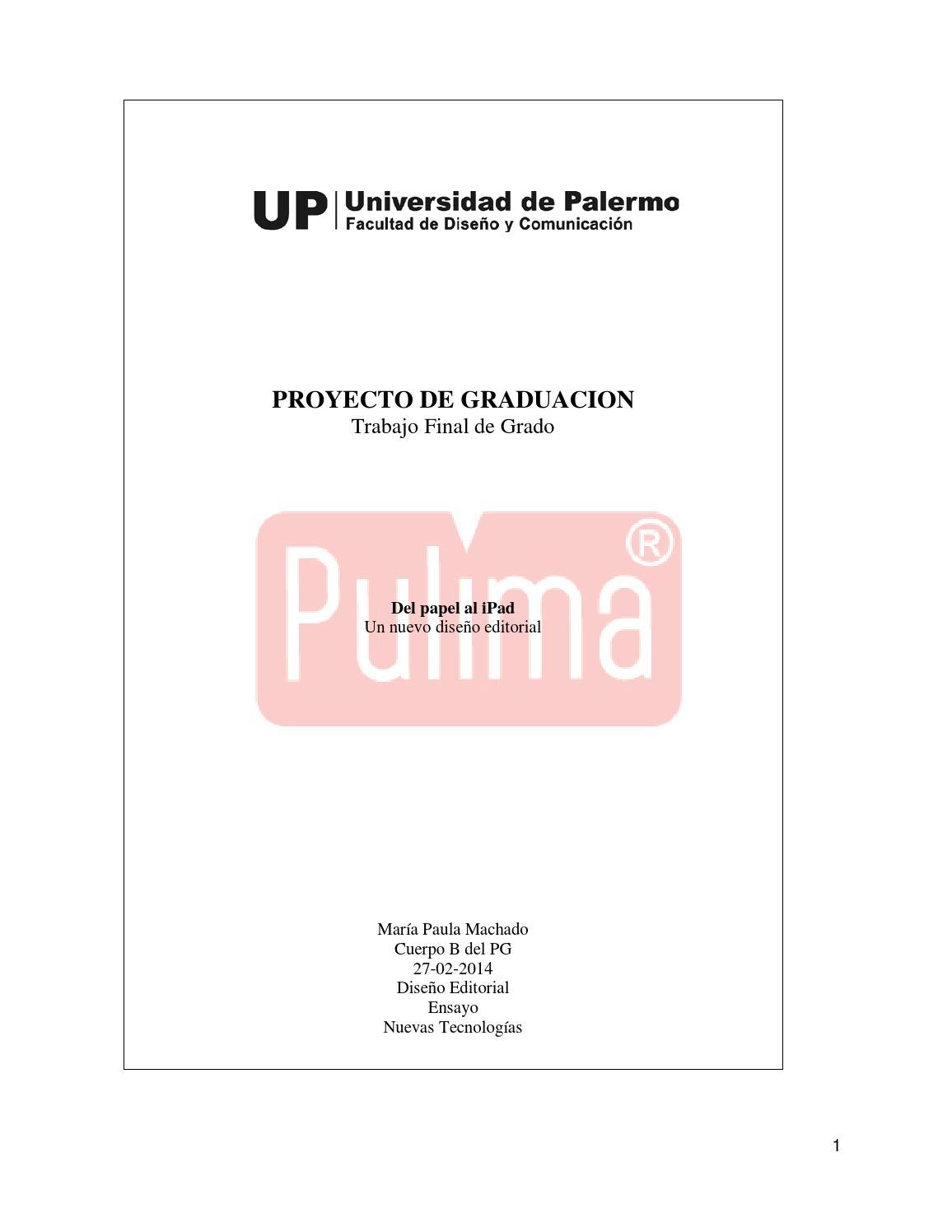 Del papel al iPad: un nuevo diseño editorial by puli machado - issuu