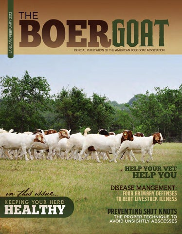 The Boer Goat January/February 2012 by American Boer Goat