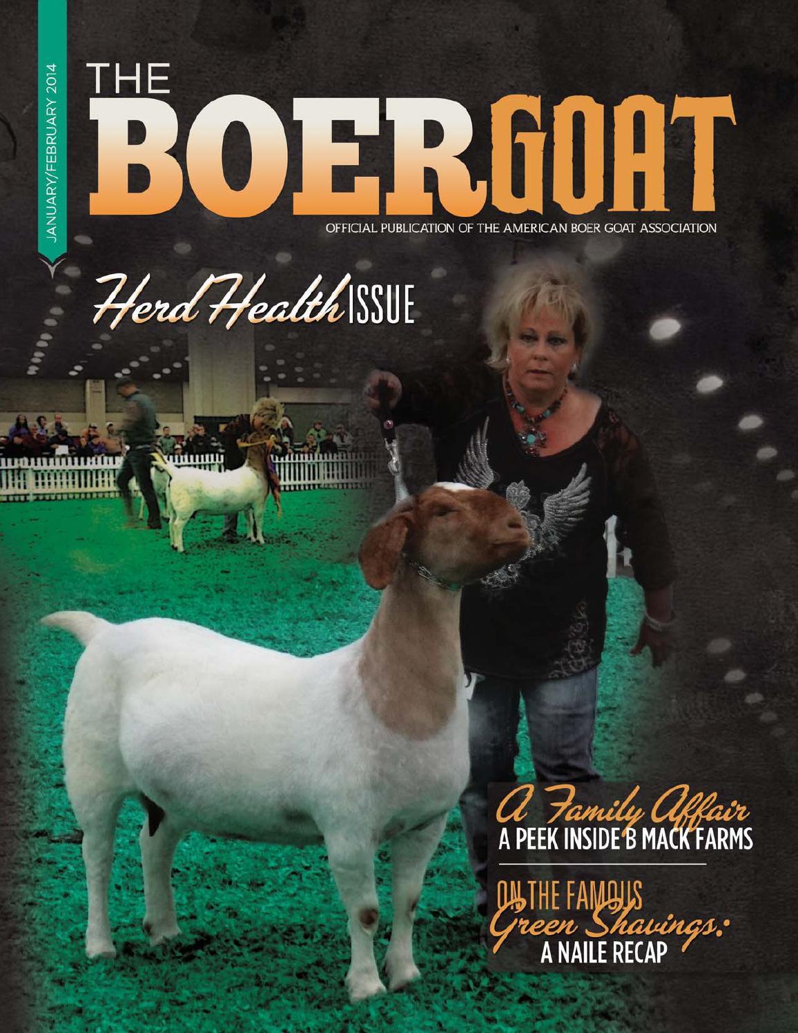 The Boer Goat - January/February 2014 by American Boer ... - photo#26