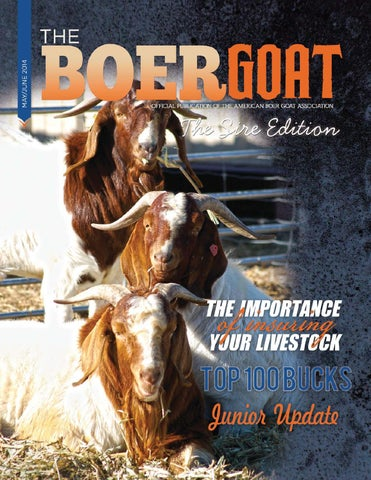 f4e46f3f3 The Boer Goat - May June 2014 by American Boer Goat Association - issuu