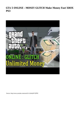 GTA 5 ONLINE - MONEY GLITCH Make Money Fast XBOX PS3 by