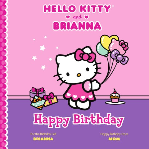 Put Me In The Story Happy Birthday Hello Kitty Me Personalized Book By Sourcebooks Issuu