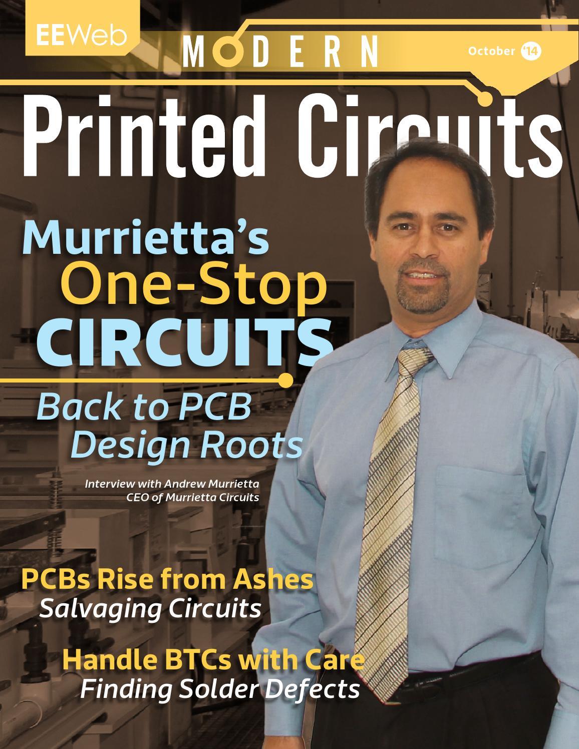 Modern Printed Circuits October 2014 By Eeweb Magazines Issuu Audio Level Threshold Control Community