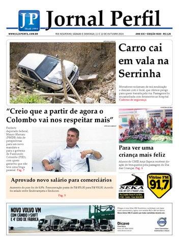 ddc41aa8e0eabb Jornal perfil 11 10 14 by ClicPerfil - issuu
