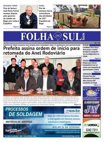 cc4a167e479 Folha do Sul Gaúcho Ed. 1357 (11 10 2014) by Folha do Sul Gaúcho - issuu