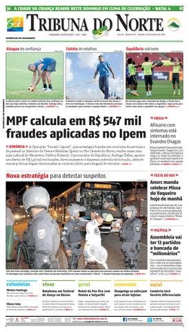 Tribuna do Norte - 11 10 2014 by Empresa Jornalística Tribuna do ... 9c681f452538c