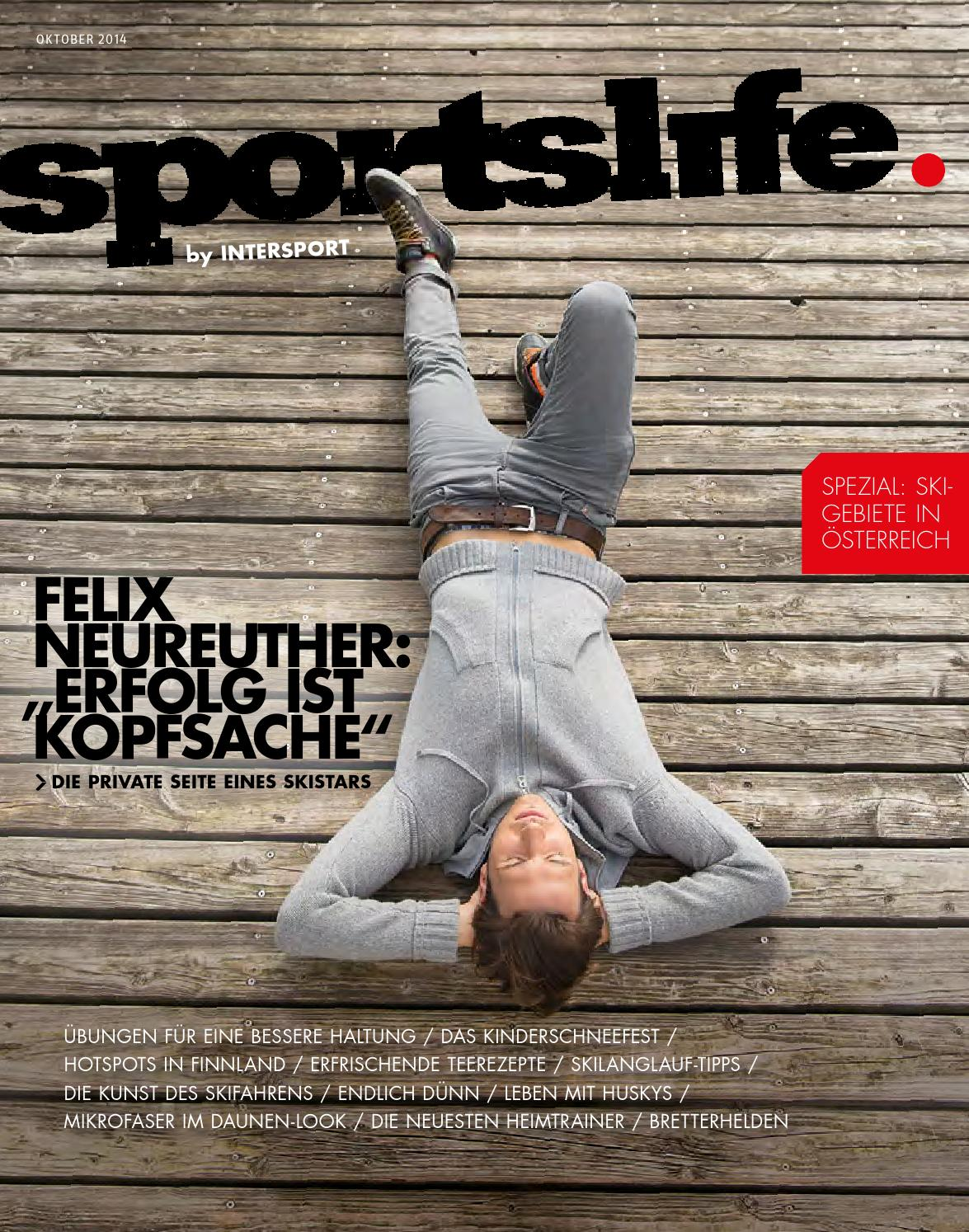 INTERSPORT KUHN SPORTSLIFE Oktober 2014 by Intersport Kuhn