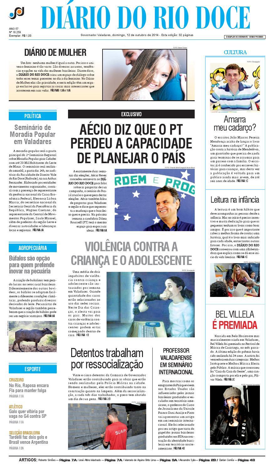 Diário do Rio Doce - Edição de 12 10 2014 by Diário do Rio Doce - issuu 6079f8bd3b