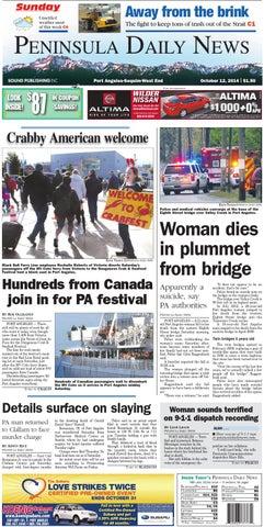 e60ec35f52 PDNN20141012C by Peninsula Daily News   Sequim Gazette - issuu