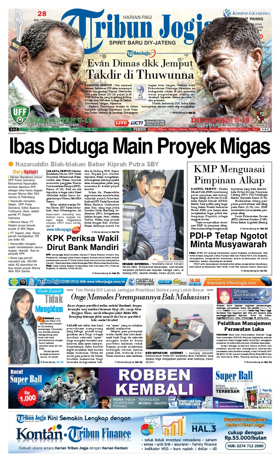 Tribunjogja 10 2014 By Tribun Jogja Issuu Produk Ukm Bumn Barbekyu Kelitik Surabaya