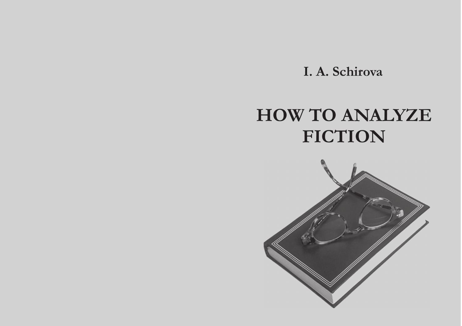 How to Analyze Fiction recommendations