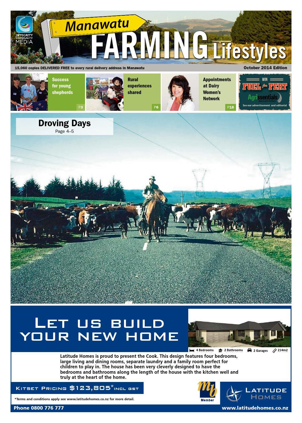 Manawatu Farming Lifestyles, October 2014 by Integrity Community ...