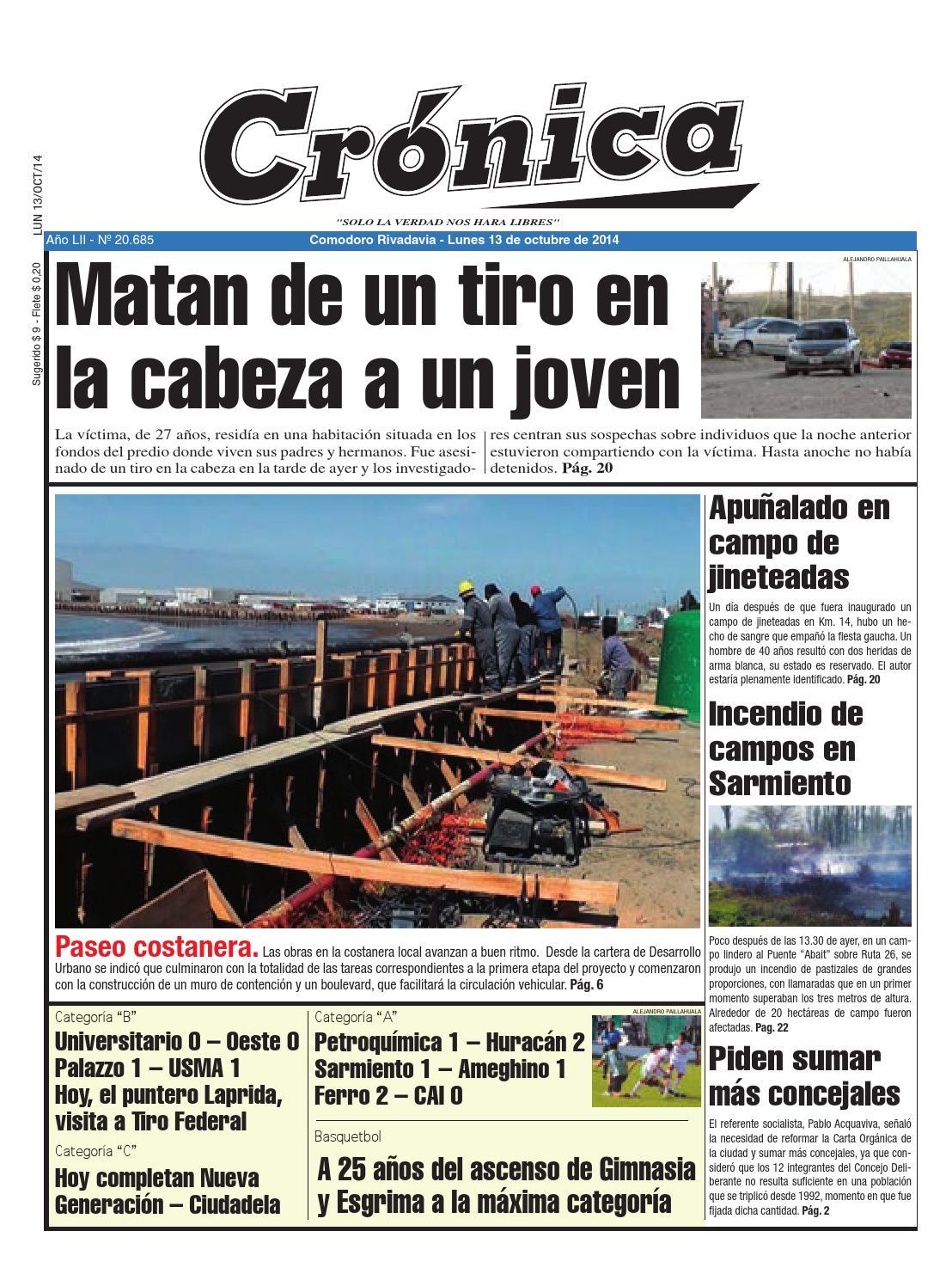 Cf5adae9387d2ef18aef732181a84d52 by Diario Crónica - issuu