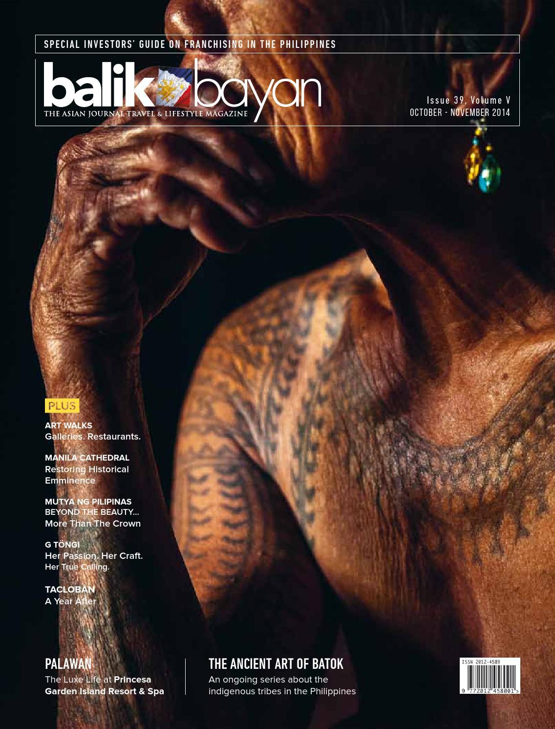 Balikbayan Magazine October - November 2014 by Balikbayan Magazine ...