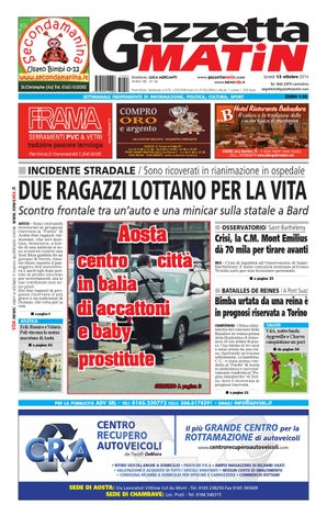 Gazzetta Matin del 13 ottobre 2014 by NewsVDA - issuu 08b1d57d928
