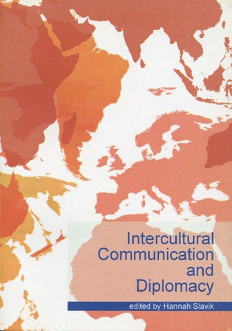 Intercultural Communication And Diplomacy By Diplofoundation Issuu