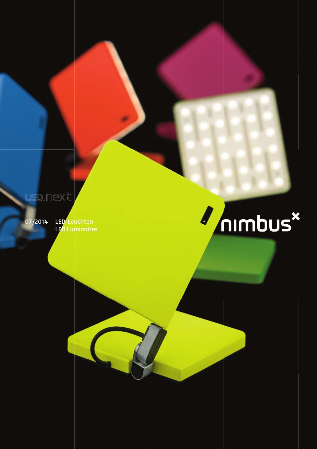 Nimbus Led Next Hauptkatalog 2014 By Proluma Ag Issuu