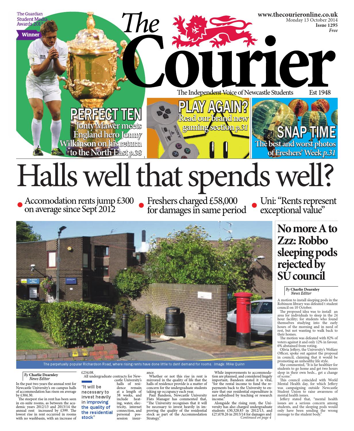 Courier 1295 by The Courier Online - issuu 41066c5d7b217