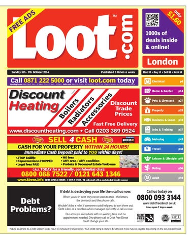 official photos 349ce 7b022 Loot London, October 5th 2014 by Loot - issuu
